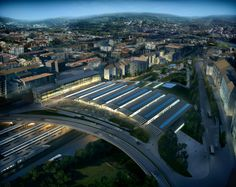 Image 6 of 9 from gallery of Foster + Partners win competition to design Ourense AVE Station. © Foster + Partners