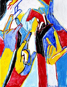 Nancy Rourke Paintings — We Love You