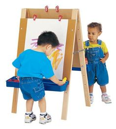 Jonti-craft Toddler Adjustable Childrens Easel