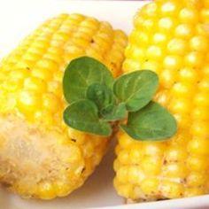 Bbq corn on cob