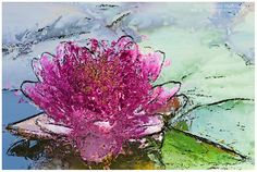 Pink, Blue, and Green, & Romantic Things by Francie on Etsy
