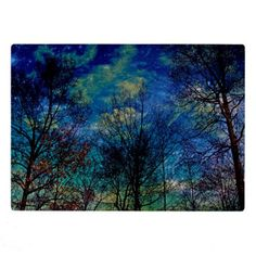 Magical Celestial Forest Nature Plaque  Easel 7x5 - photography gifts diy custom unique special