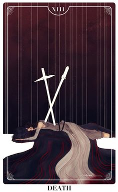 elithien: Reylo Tarot Cards: DEATH–Other Tarot Cards:THE LOVERS these-are-the-first-steps: As looong as they die together I'm fine with it. Can't have one without the other anymore. It's just too difficult to contemplate. x.x