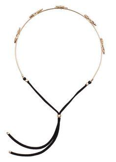 MANGO Bead Appliqué Hairband - £4.99
