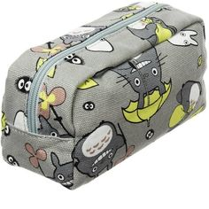 My Neighbor Totoro Pen Bag Pencil Case Cosmetic Makeup Bag Pouch... ($14) ❤ liked on Polyvore featuring beauty products, beauty accessories, bags & cases, bag pencil case, travel toiletry case, cosmetic bags, make up purse and wash bag