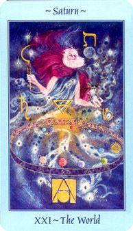 tarot cards the world | The World