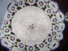 Amei fazer este tapete Flor de Maracuja. professor Marcelo Nunes, Esse foi para Maria Helena. ela Amou