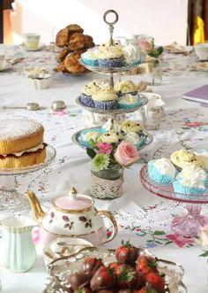 Manchester, UK - Afternoon Tea @ Sugar Junction