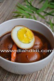 Diah Didi's Kitchen: Telur Bumbu Petis Diah Didi Kitchen, Indonesian Cuisine, Indonesian Recipes, Padang, Asian Recipes, Asian Foods, Bento, Tofu, Cake Recipes
