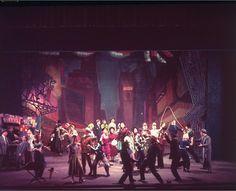 Guys & Dolls 1950. Jo Mielziner designer Guys And Dolls, Golden Age, Theatre, Musicals, Broadway, Concert, Design, Theatres, Theater