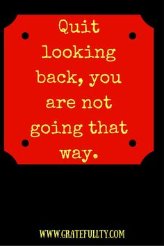 TK; I have got to start doing this! Put your high beams on and keep moving forward, you can make it through!
