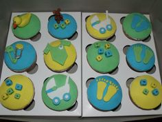 Baby Shower Cupcakes for Boys | baby-shower-cupcakes-boy-1-web