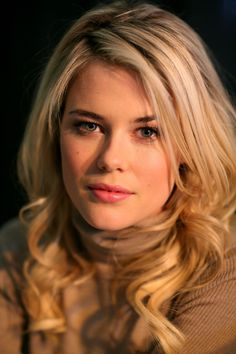 Rachael Taylor; she is going to be a character in my story, I just have to figure out where to place her