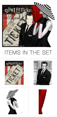 """Hollywood"" by nightowl59 ❤ liked on Polyvore featuring art"