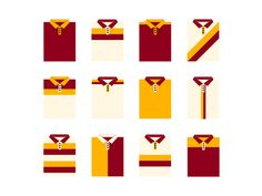 Polo Shirt Illustrations designed by Andrea Laureti. Polo Shirt Style, Polo Shirt Design, Polo Design, Polo Shirt Colors, Polo T Shirts, Expensive Coffee, Shirt Quilt, Icon Design, Tommy Hilfiger