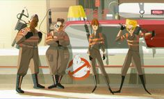 A place to share the love for the new Ghostbusters movie and Erin/Jillian potential ship, also supporting the cast The Real Ghostbusters, Night At The Museum, Ghost Busters, About Time Movie, Movie Characters, Disney Style, Character Illustration, Caricature, Ghostbusters