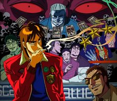 Kaiji Anime, Anime Art, Kaiji Itou, Character Drawing, Otaku, Manga, Films, Movies, Fictional Characters