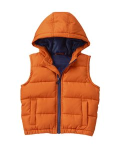 Hooded Puffer Vest at Crazy 8 (Crazy 8 6m-5Y)
