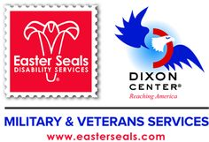 2014 Easter Seals Dixon Center military and caregiver information #veterans #military
