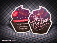 Lady Bon Bon Business Cards - So much amazing detail in that card!