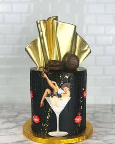 Our Sexy Cake by dbakers Sweet Studio
