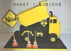 Sweet Illusions Cake Designs, Construction Cakes, Nerf, Illusions, Toys, Sweet, Transportation, Activity Toys, Candy
