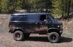 V8-VAN-SIX-WHEEL-AND-4X4 - Custom V8 Van Conversion New Trucks, Custom Trucks, Lifted Trucks, Mens Vans Shoes, Vans Men, Lifted Van, Chevrolet Van, Gmc Vans, Rv Bus