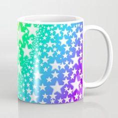 Rainbow Stars Coffee Mug