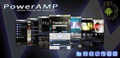 """تحميل تطبيق مشغل الموسيقى لأندرويد : PowerAMP Music Player حمل المزيد من تطبيقات وألعاب وثيمات أندرويد بصيغة apkمجاناً بدون الدخول لمتجر جوجل بلاي من خلال موقع """"عالمAPK"""" www.3alamapk.blogspot.com"""