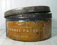 Large Industrial Bakery Canister  Vintage by DivineOrders on Etsy, $29.00