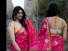 exceeding blouse collections from GOLDEN THREADS