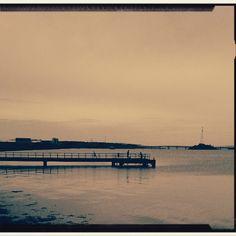 Fishing off the pier #fishing #ringaskiddy #cork #cork_harbour #icu_Ireland #discoverireland #insta_cork #corkcity