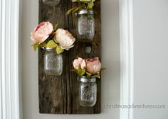Follow me on Instagram, Facebook, and Pinterest for more creative inspiration! I've been meaning to make a mason jar holder for my home for such a long time now.  Now that I've made one, I want to make different versions of the same craft for every room in my house!  This is a great way to …