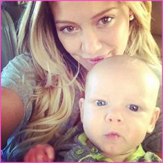 Hilary Duff And Her Son Luca Are On Their Way To Canada June 30, 2012