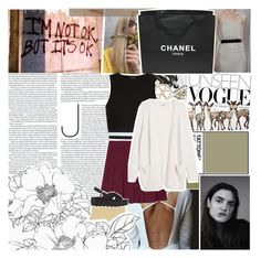 """You've got a fire inside but your heart is so cold"" by inasbaza ❤ liked on Polyvore featuring Assouline Publishing, Chanel, Topshop, New Look, Monki and SPURR"