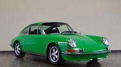 // Green Porsche
