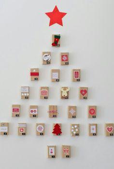 arbol de navidad pared