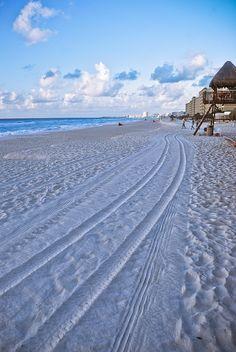 Mi playa favorita!! Playa Marlin... :) Cancun Beach