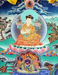Karmapa - (tibétain : ཀརྨ་པ་, Wylie : karma pa) est un mot tibétain venant du sanskrit et le titre du chef de l'école karma-kagyu du Tibet, issue de la lignée kagyüpa, l'une des quatre traditions majeures du bouddhisme tibétain. C'est aussi une lignée de réincarnation d'un maître spirituel, la première à avoir vu le jour. Parfois appelé chef de l'école du chapeau noir du bouddhisme tibétain, il est comme le panchen-lama une importante personnalité religieuse tibétaine après le dalaï-lama -