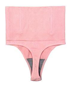d610e4f9d6 ShaperQueen 102B Thong Women Waist Cincher Girdle Tummy Slimmer Sexy Thong  Panty Shapewear M Nude Pink