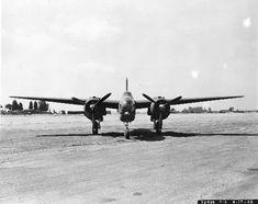 """Douglas F-3 """"Havoc"""" aerial reconnaissance aircraft, April 17, 1942."""