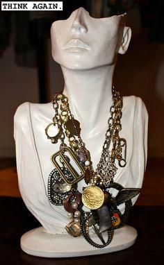 junk jewelry necklace | Junk Jam! (Killer Vintage Necklace) | Cheap JAP