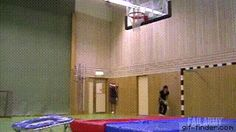 Terrible basketball fail   Gif Finder – Find and Share funny animated gifs