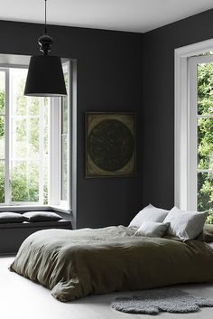 Change the colour of the bed linen but the room is lovely