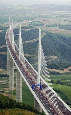 Millau Viaduct Bridge, France