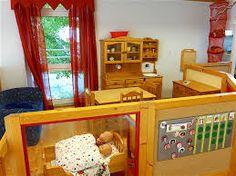 Bildergebnis f r puppenecke im kindergarten gestalten for Raumgestaltung u3 betreuung