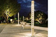 Exterior, lighting pole, decorative.Treille   Technilum