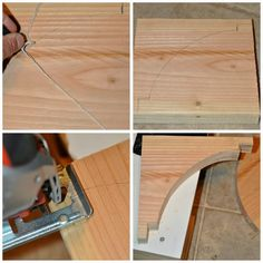 How to make your own fat corbels.......a LO and behold life: Kitchen Open Shelf Reveal