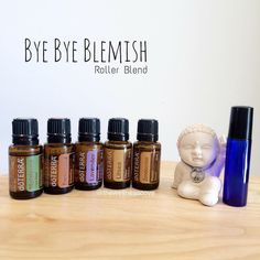 Pimple treatment. Acne treatment. Essential oils. Doterra. Roller bottles. DIY