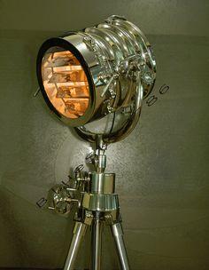 Bogart Surveyor Style Floor Lamp | Nautical Searchlight Lamp | New ...